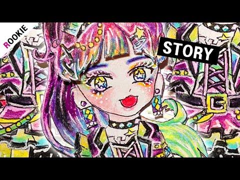 DRAW) SD Punk Rocker 종이인형👽 | 종이구관 만들기 | 그림 강좌 | 인형 놀이 | Make a rock paper doll |