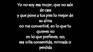 Yo No Soy Esa Mujer Paulina Rubio Lyrics Letra bajaryoutube com)