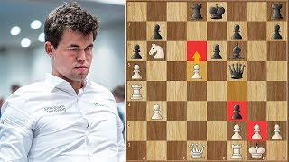 Crazy Supercomputer Move! | Carlsen vs Donchenko  | ECCC (2018)