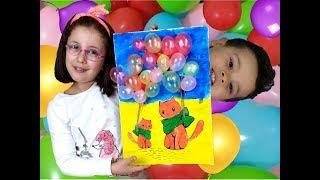 Bir Oda Dolusu Balon Hazırladık, Niloya, Pepee, Elsa, Harika Kanatlar (Uçan Balonla Etkinlik)