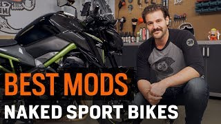 Best Naked Sportbike Mods for Touring at RevZilla.com