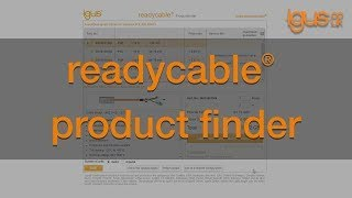 Readycable Product Finder