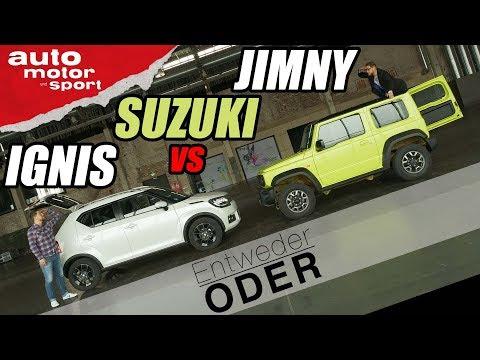 Suzuki Jimny vs Ignis | Entweder ODER | (Vergleich/Review) auto motor und sport