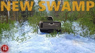 SpinTires MudRunner: NEW SWAMP MAP, Let's Explore!