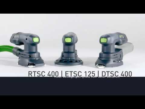 Festool DTSC 400 Li 3,1-Plus accu delta schuurmachine