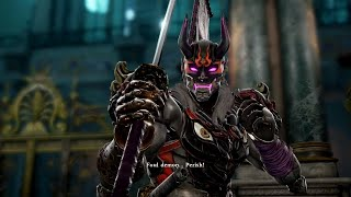 SOULCALIBUR 6 - Yoshimitsu vs Nightmare Gameplay & Nightmare Finisher (Soul Edge) PS4 PRO