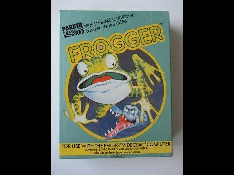 Frogger   Philips Spielekonsolen   G7000 / G7400 / Videopac / Videopac+
