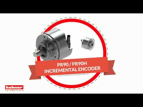 Hohner Programmable Incremental Hollow Solid Shaft Encoder For Industrial Applications