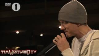 Westwood - EXCLUSIVE Eminem freestyle Radio 2