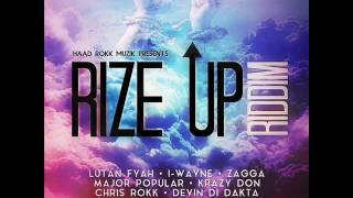 Rize Up Riddim Mix (Full) (Haad Rokk Muzik / 21st Hapilos Digital) (June 2016)