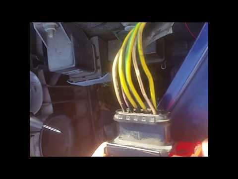 Peugeot 307 front indicator not working repair