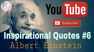 Inspirational Video (Quotes) #6 | Motivational Video | Albert Einstein | Fun Grave