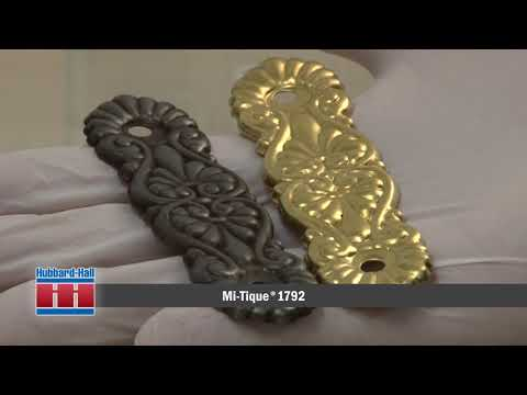 Metal Coloring Demonstration with Mi-Tique 1792