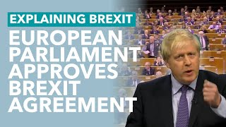 30 Jan - Withdrawal Agreement Approved by EU Parliament