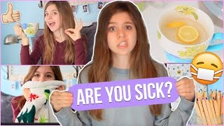 What to Do When You're Sick! | Tips to Feel Better + My Essentials!