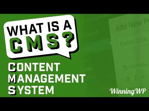 What is a CMS (Content Management System)?
