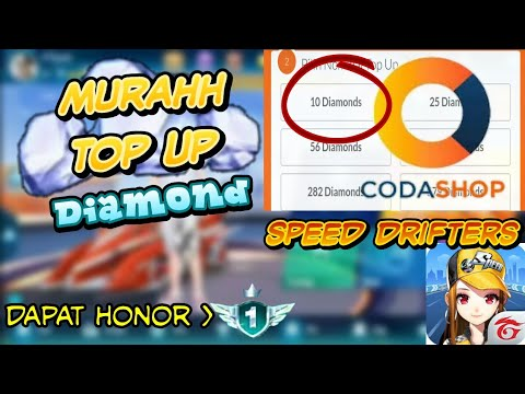 CARA TOP UP MURAH! BELI DIAMOND DI SPEED DRIFTERS VIA CODASHOP
