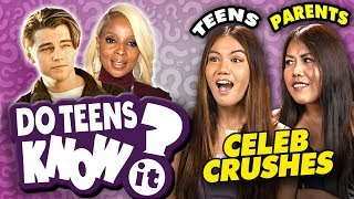 Do Teens Know Their Parent's First Celeb Crush?