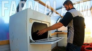 Homemade Soil Mixer from a CLOTHES DRYER  -  Episode 4  -  One Year on a Farm