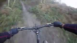 preview picture of video 'Surrey Hills MTB January 2015'