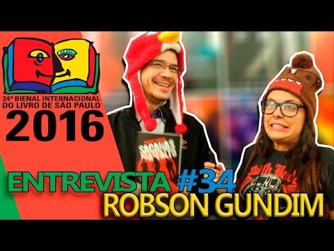 Entrevista Robson Gundim | Bienal do Livro 2016