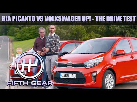 Kia Picanto VS Volkswagen Up! - The Drive Test | Fifth Gear