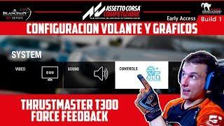 ASSETTO CORSA COMPETIZIONE | CONFIGURACION VOLANTE Y GRAFICOS | GTro_stradivar Gameplay Español