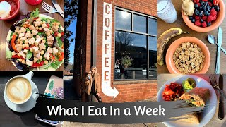 What I Eat In a Week: Vegan in College
