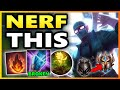 RIOT HAS TO NERF THIS BUILD RANK 1 SHEN S9 Shen Top vs Olaf Unranked to Challenger EP 19