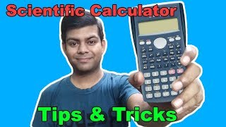 Scientific Calculator Tips and Tricks | How to use Scientific Calculator