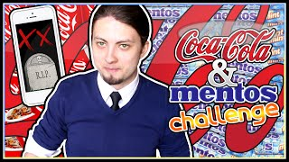 COLA AND MENTOS CHALLENGE!! | Miszczelendż #7 (RIP IPHONE 5s) [*]