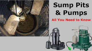 Sump Pits and Sump Pumps - All You Need to Know
