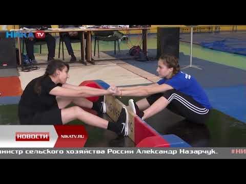 В спорткомплексе «Вымпел» полсотни атлетов сразились в якутской борьбе