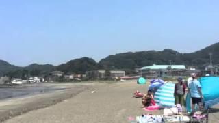 千葉県富浦市原岡海岸安全穴場の海