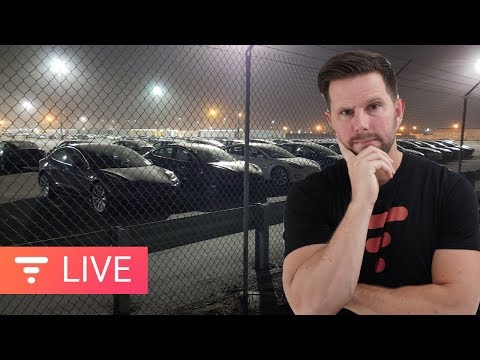 Tesla Model 3s Held Hostage On Train - Let's Talk About It [live]