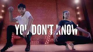 Sean Lew and Kaycee Rice - You Don't Know - 702 | Brian Friedman Choreography | Playground LA