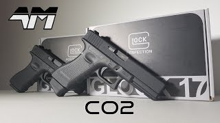 UMAREX GLOCK 17 Co2 Version / Elite Force Officially Licensed Airsoft Glock 17 / Unboxing Review VFC