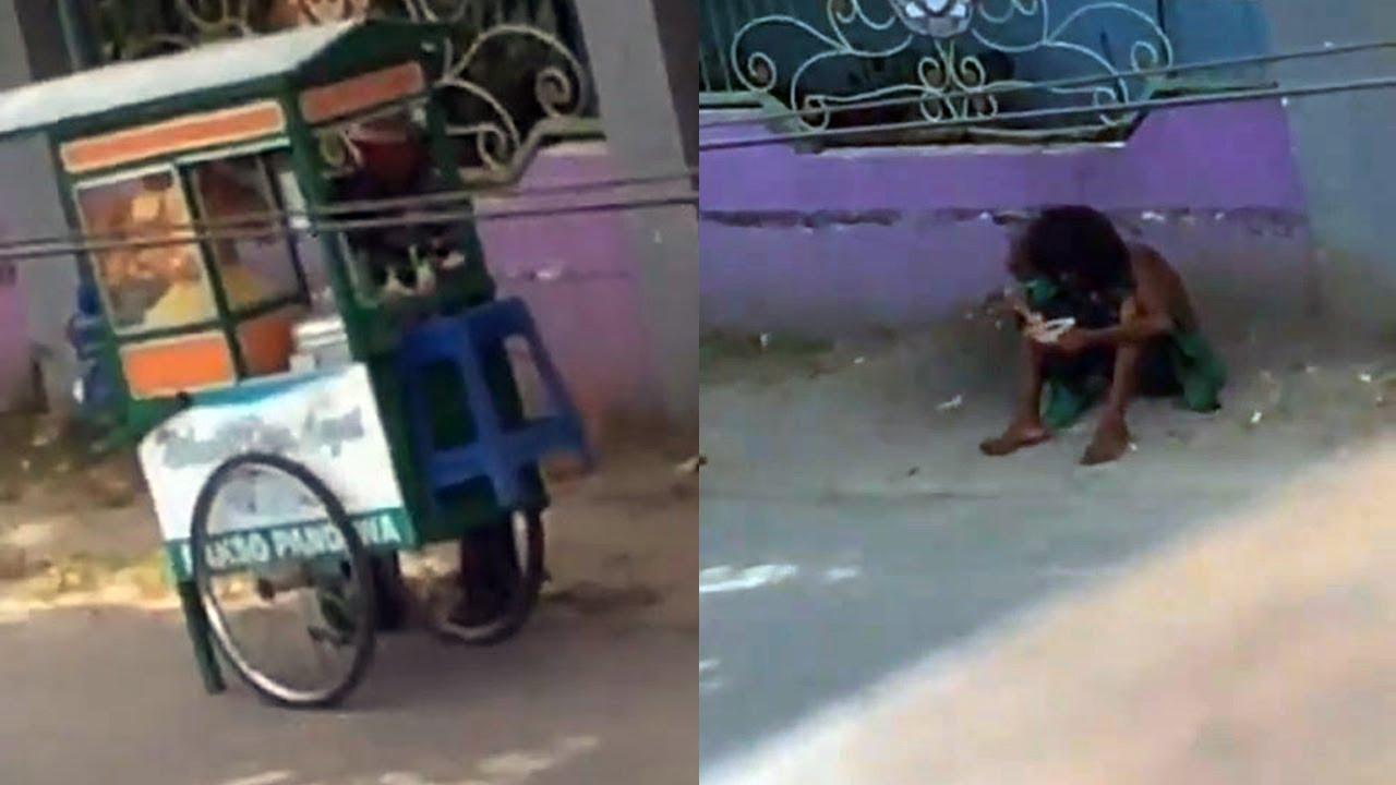 Diam-diam Direkam, Tindakan Pedagang Bakso ke Gelandangan di Pinggir Jalan Tuai Pujian