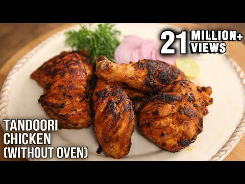Tandoori Chicken | No Oven – Easy To Make Recipe | The Bombay Chef – Varun Inamdar