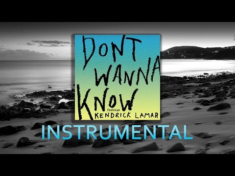 Maroon 5 - Don't Wanna Know ( Instrumental )