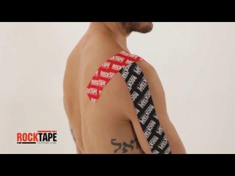 RockTape - Тейпирование области плеча с помощью одной полосы