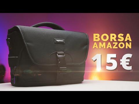 Recensione Borsa Amazonbasic - Molto capiente, ma costa solo 15€!