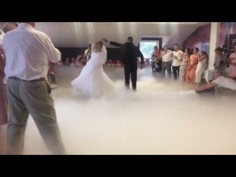 Оформлення весільного танцю спецефектами, відео 20