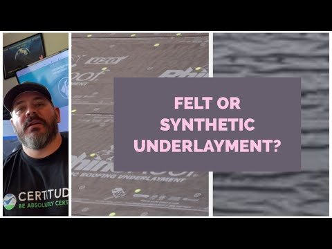 Felt vs Synthetic Felt Paper on your Shingle Roofing Project