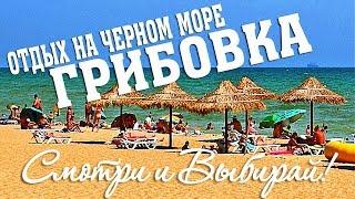 Отдых на Черном море - курорт Грибовка - Базы отдыха и отели.