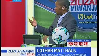Lothar Matthäus alishiriki kombe la dunia 1990/94: Zilizala viwanjani