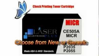 MICR Toner Cartridges from Laser Cartridge Plus