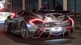 CHROME McLaren P1 Race Mode in the City!!