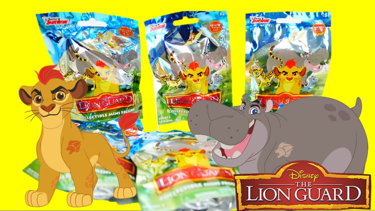 Disney The Lion Guard Blind Bags with Kion | Evies Toy House