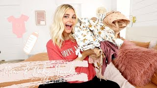 Matching Mommy & Baby Girl Clothing HAUL W/ Aspyn + Parker EP 6
